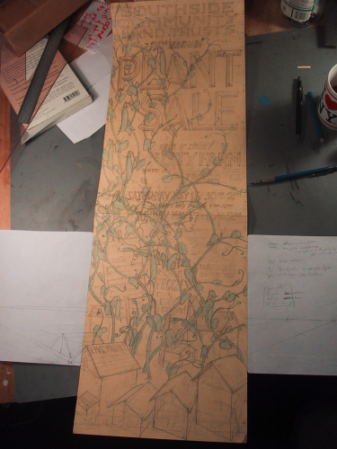 mid-plant drawing stage