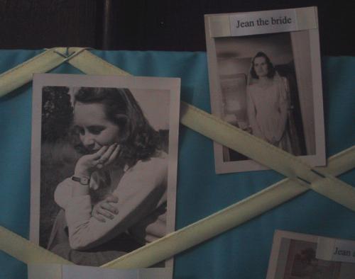 photos of my grandmother Jean, c. 1940-41