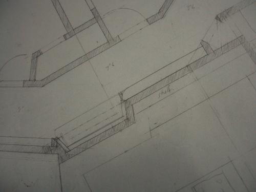 hallway drawing