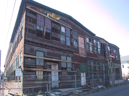 bucklin street warehouse - short end