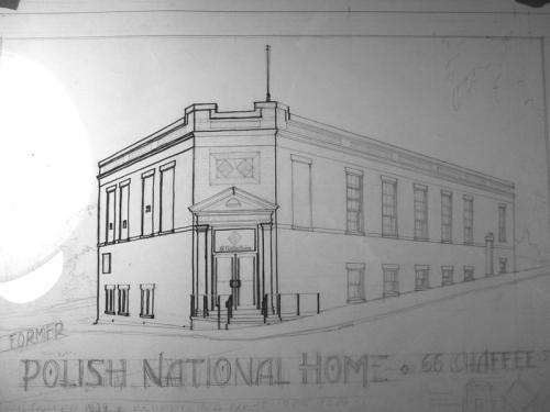 polish home drawing