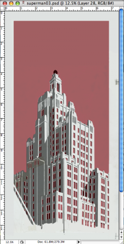 working on the layers…