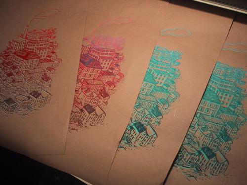 """""""neighborhood"""" prints"""