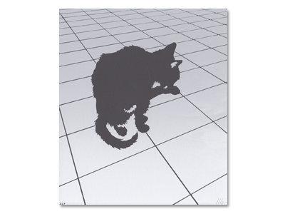 black cat print!