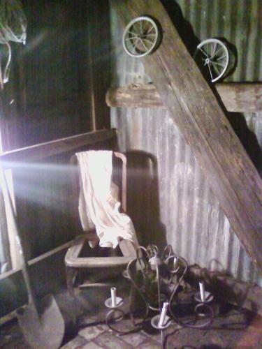 shed setup