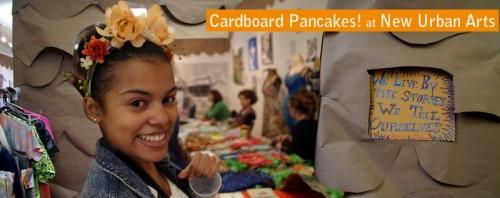 cardboard pancakes!
